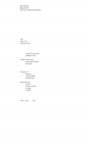 Elegy - page 1